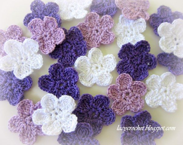 crochet flowers pattern brunfelsia inspired crochet flowers by lacy crochet [see symbol chart  pattern] GZYIEBP
